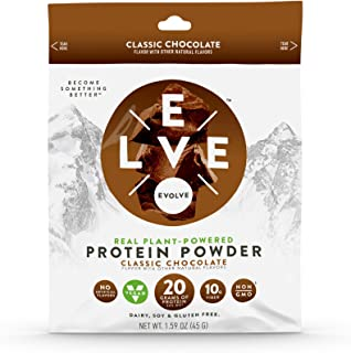 product image for Evolve Protein Powder Packet, Classic Chocolate, 20g Protein, 5 Count