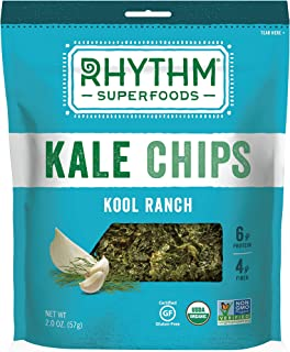 product image for Rhythm Superfoods Kool Ranch Kale Chips, 2 Ounce