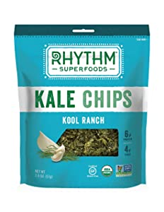 Rhythm Superfoods Kool Ranch Kale Chips, 2 Ounce