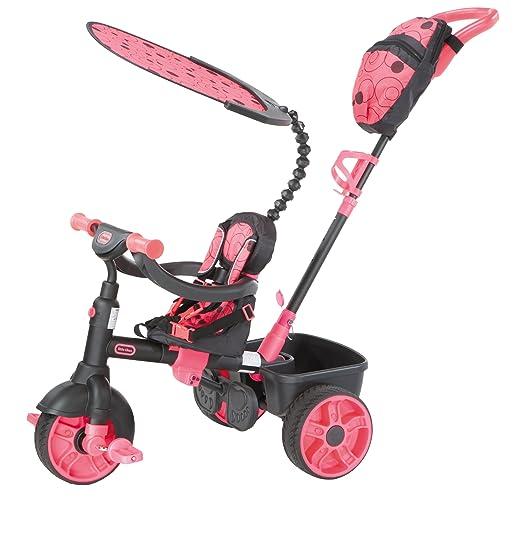 132 opinioni per Little Tikes 634338E4- Triciclo 4 in 1 Deluxe, colore: Rosa
