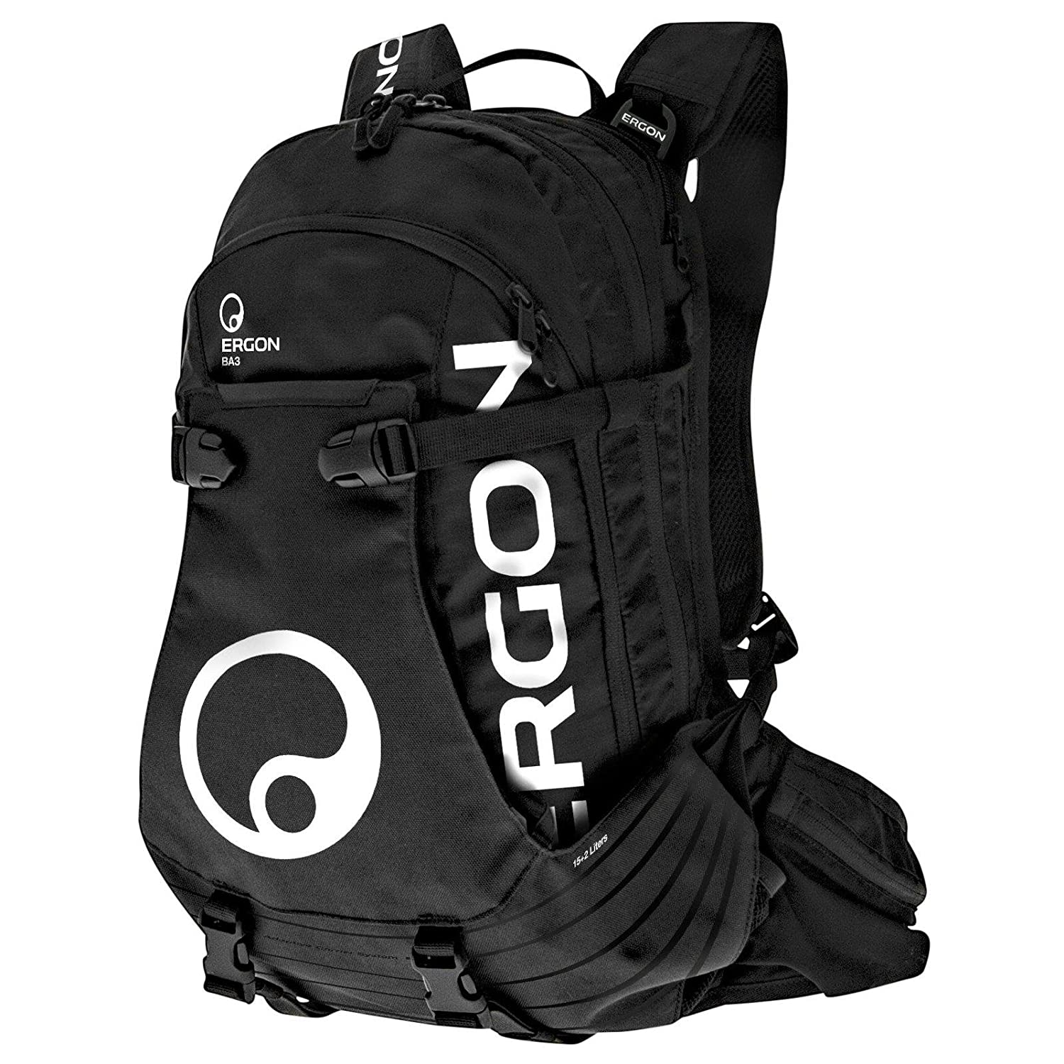 Ergon BA3 Backpack 15+2l black 2019 Rucksack cycling: Amazon