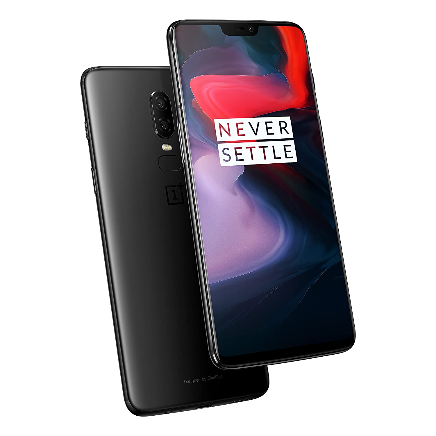 OnePlus 6 Smartphone, A6003, 128GB, Midnight Black