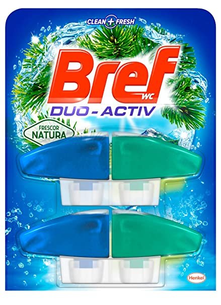 Bref Duo Activo Natura, Doble Recambio - 2 x 50 ml
