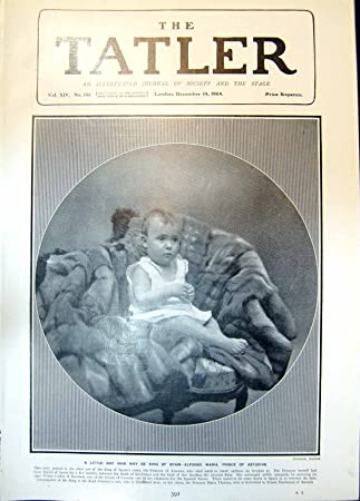 Amazon.com: old-print Print Little Boy May Be King Spain ...
