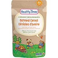 Healthy Times Organic Whole Grain Cereal, Oatmeal, 142g
