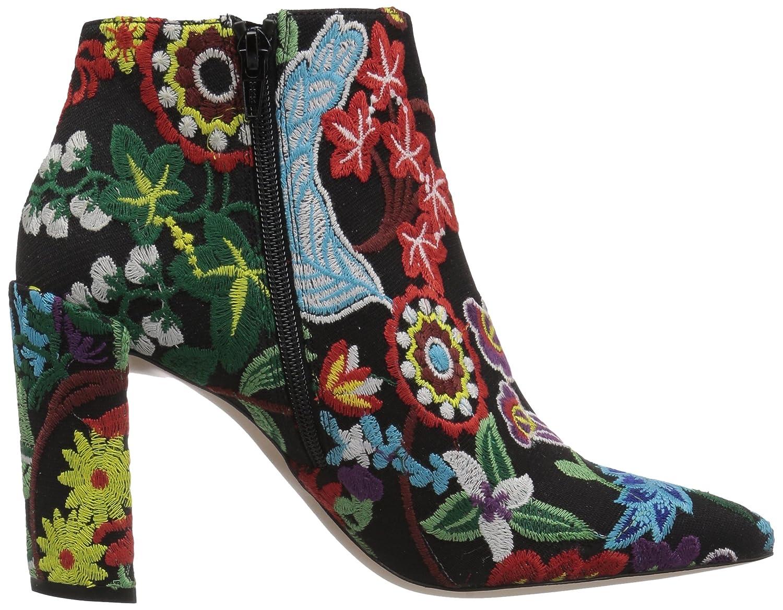 Stuart Weitzman Women's Pure Ankle Boot B071XDKD47 7 B(M) US|Multi Botantic Embroidery