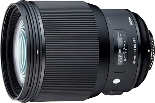 Sigma 85mm f/1.4 DG HSM Art Lens for Nikon cameras