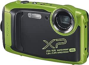 Fujifilm XP Series Tough Waterproof, Lime (XP140)