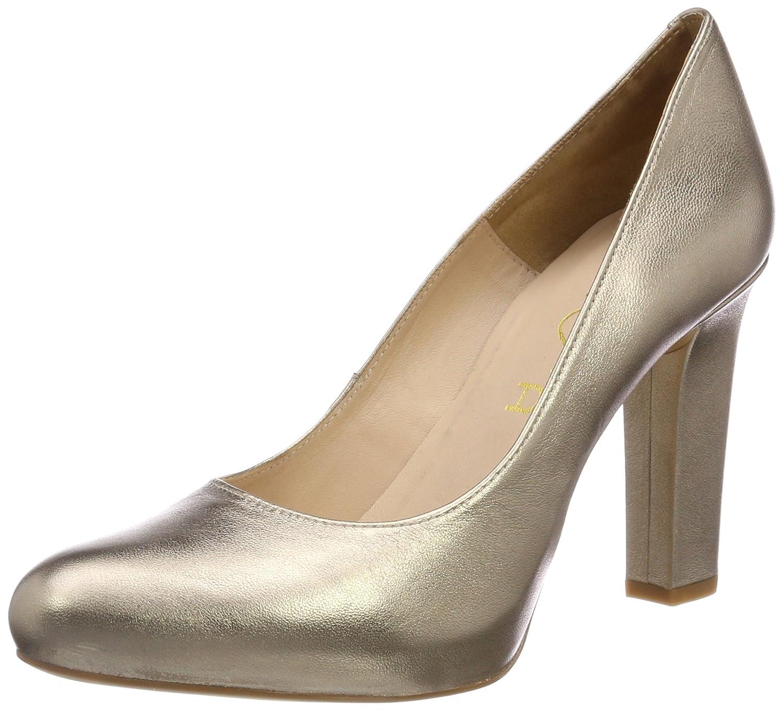 Unisa Patric_18_lmt, Zapatos de Tacón para Mujer 39 EU Dorado (Mumm)