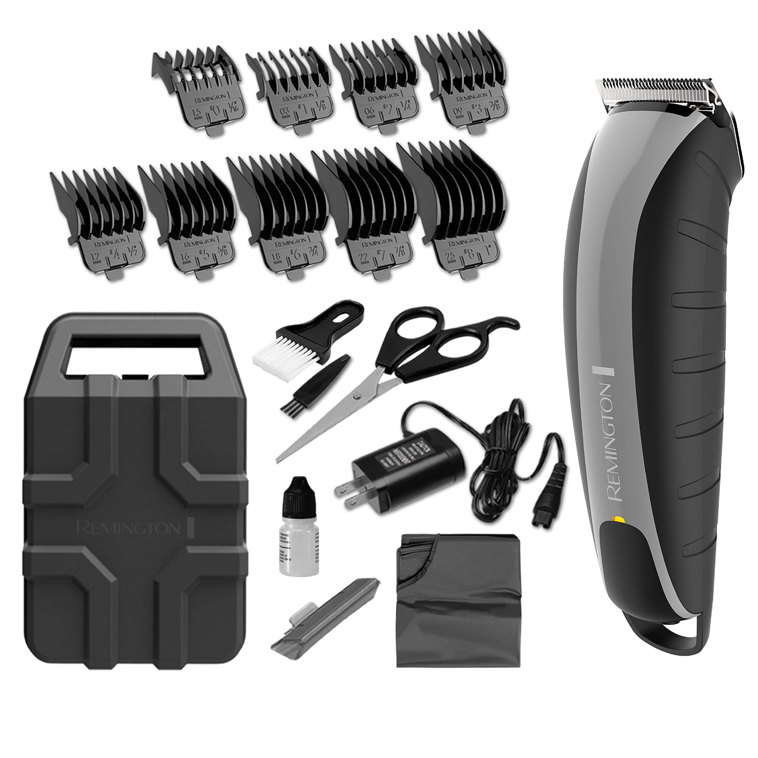 Remington HC5870 Cordless Virtually Indestructible Barbershop Clipper, Hair Clippers, Hair Trimmer, Clippers by Remington