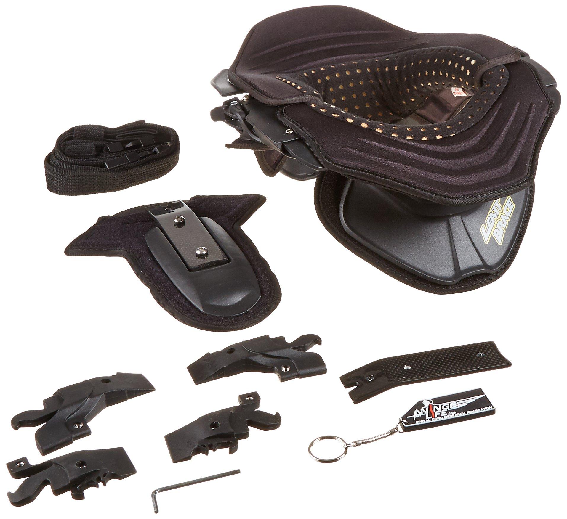 Leatt Kart Neck Brace (Black/Black, Small)