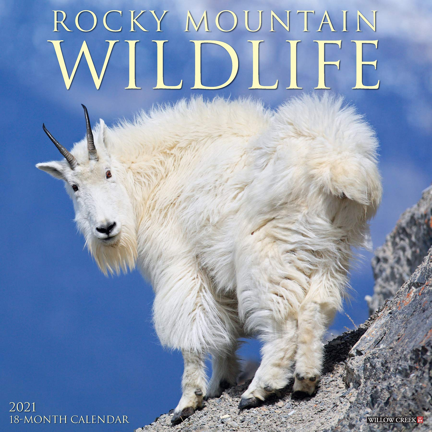 Sfsu 2021 Calendar Rocky Mountain Wildlife 2021 Wall Calendar: Willow Creek Press