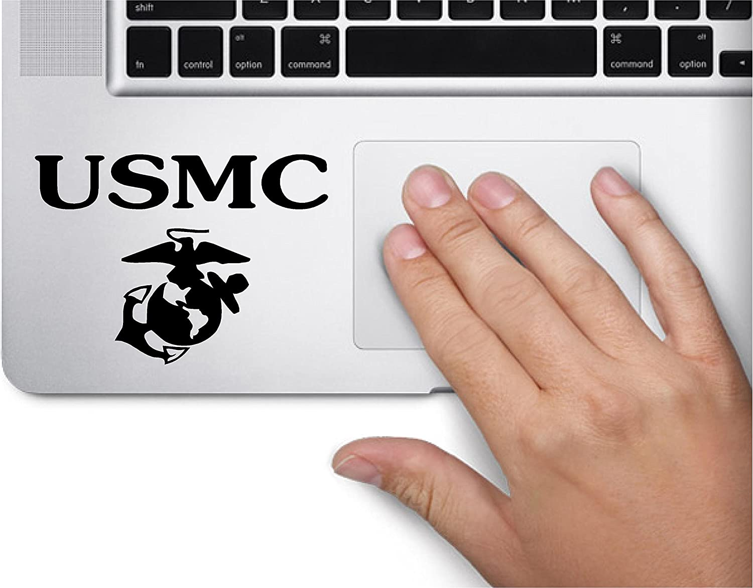 USMC Symbol United States Marine Corps Armed Force Decal Funny Laptop Skin MacBook Trackpad Keypad Sticker Window