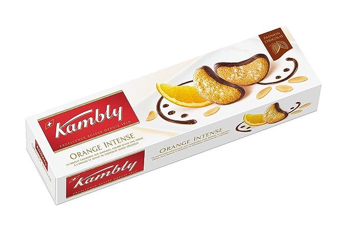 Kambly - Orange Intense - Galletas con naranja - 100 g