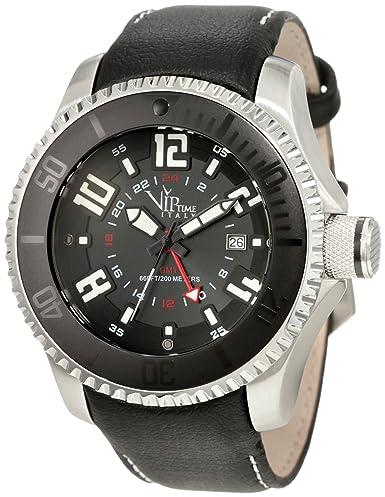 VIP TIME ITALY Reloj con Movimiento Cuarzo japonés Man VP5044ST_ST 47 mm: Amazon.es: Relojes