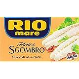 Rio Mare - Filetti di Sgombro, all'Olio di Oliva 26% - 125 g