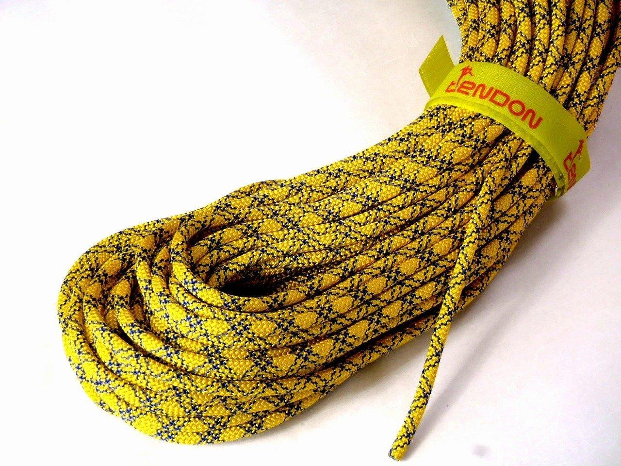 お気に入り テンドン クライミングロープ アンビション ダブル 8.5mm 50m イエロー コンプリートシールド加工 B00OH6CH54, ワカマツ:ee008e8a --- a0267596.xsph.ru
