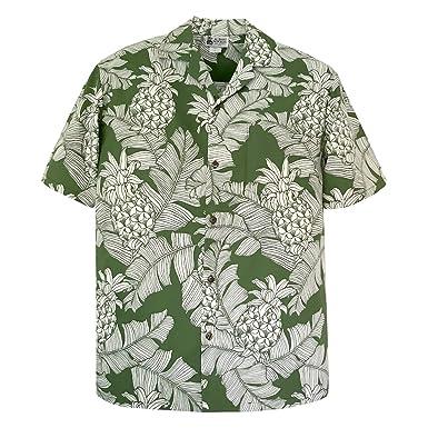 26bbdde08 Dole Pineapples Men's Hawaiian Shirt - Made in Hawaii USA at Amazon Men's  Clothing store: