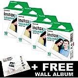 Fujifilm INSTAX Square Bundle Pack (40bicchierini) + free Wall album