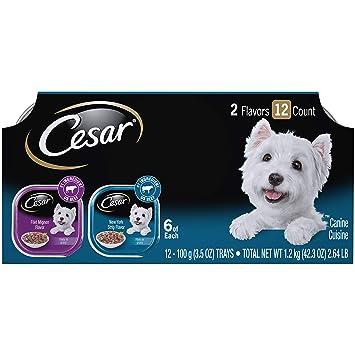 Amazon.com: Comida procesada Cesar para perro adulto, sabor ...