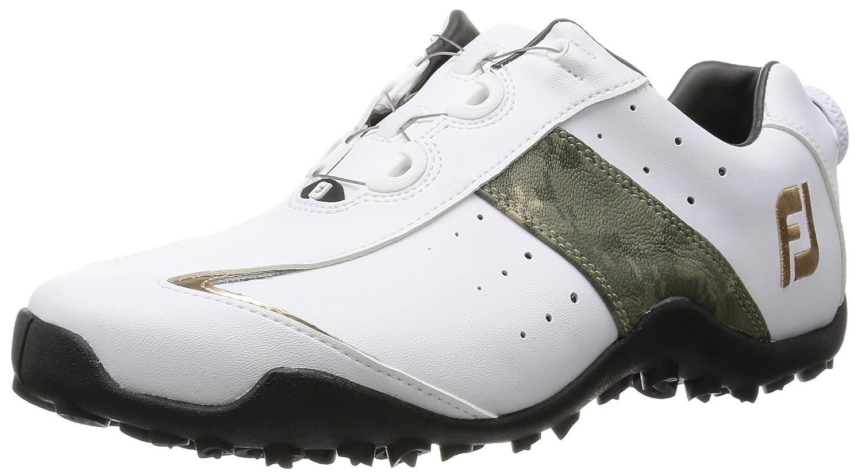 [フットジョイ]  ゴルフシューズ  EXL SPIKELESS Boa B00Z3IPVKI 25.5 cm Wide ホワイト/カモフラージュ/ゴールド