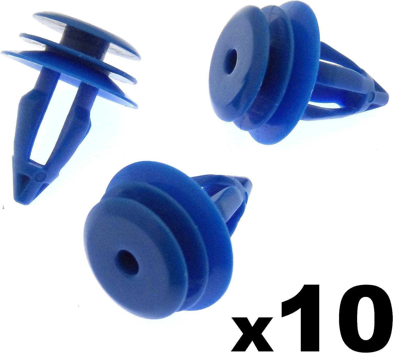 10x Kunststoff Clips Für Vorder Hinterrad Arch Trim Lr027255 Auto