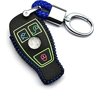 KAWIHEN Silicone Key Fob Cover Case Protector Smart Remote Control Shell Keyless Entry Case Holder Cover For Mercedes Benz W203 W210 W211 AMG W204 C E R CL GL S SL BGA CLS CLK CLA SLK Classe IYZ3312