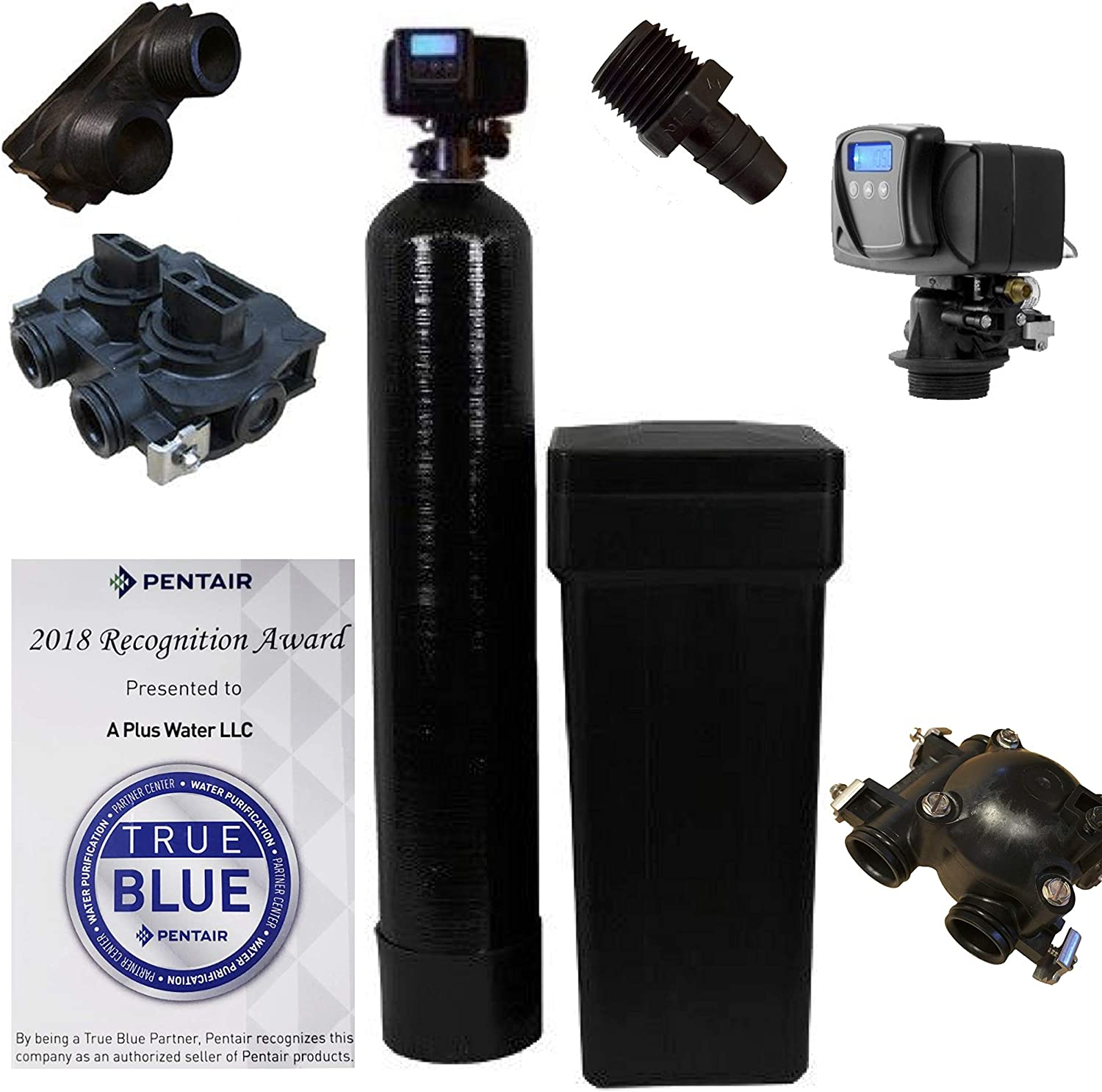 Fleck 5600 SXT 64,000 Grains Water Softener