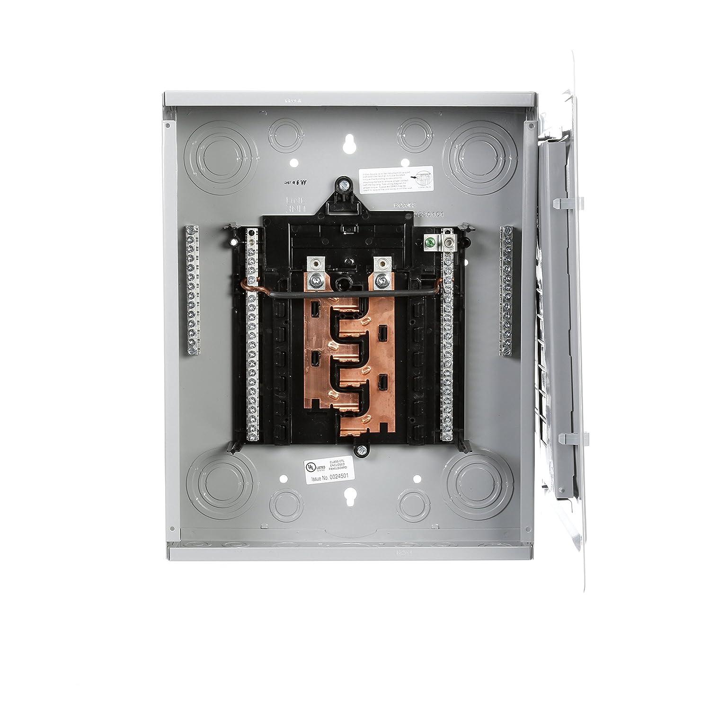 Astonishing P1224L1125Cu 125 Amp 12 Space 24 Circuit Main Lug Load Center Wiring 101 Vihapipaaccommodationcom