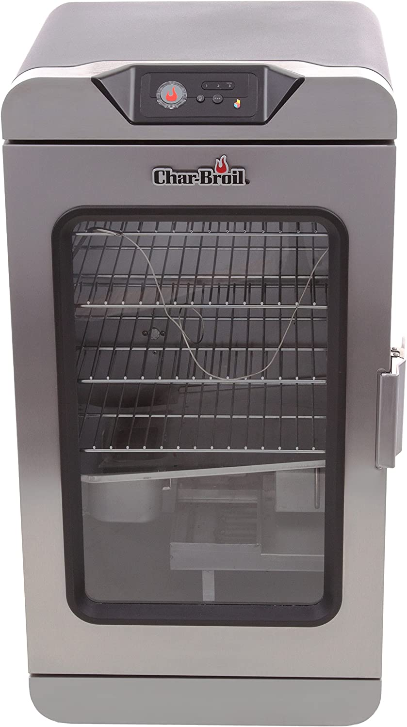 Amazon Com Char Broil Digital Electric Smoker With Smartchef Technology Garden Outdoor