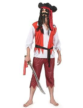 Disfraz de pirata hombre - L: Amazon.es: Juguetes y juegos