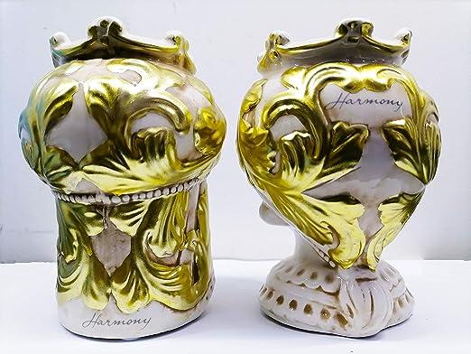Testa di Moro 30 CM Regina Collezione 2020 Harmony ceramica decorato a mano Vaso