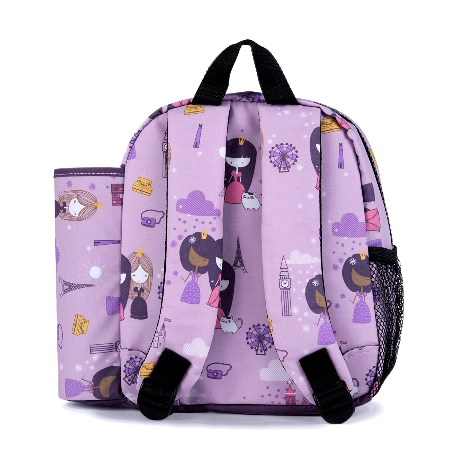 Traffic Urban Infant Preschool//Daycare Toddler Packie Backpack with Art Tube