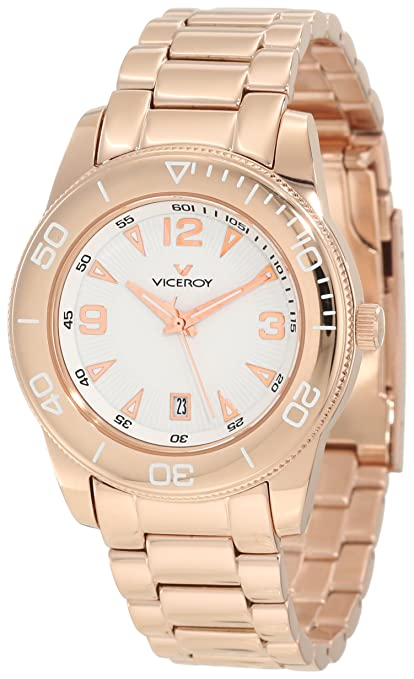 Amazon.com  Viceroy Women s 47602-05 Rose Steel Date Watch  Viceroy  Watches e705c82fbf29