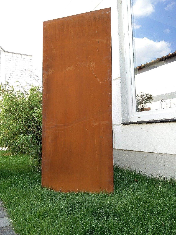 Amazon De Zen Man Edelrost Garten Sichtschutz Aus Metall Rost