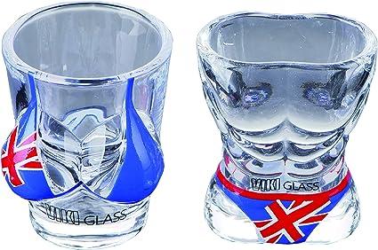 Viki-Glass] Juego de vasos de chupito para bikini, diseño de ...