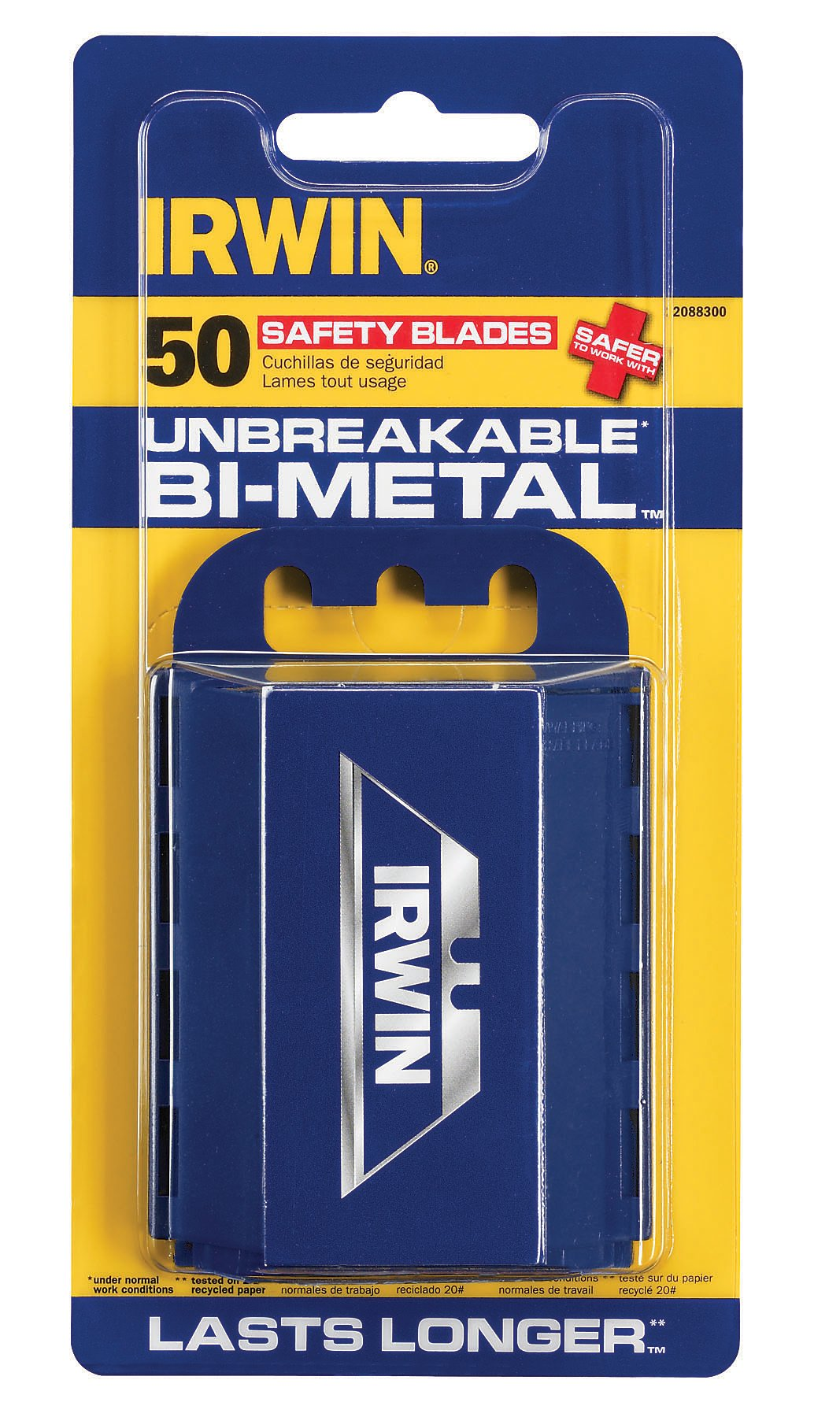 Irwin Tools 1764981 Bulk Safety Blades (100 Pack) by Lenox Tools (Image #1)
