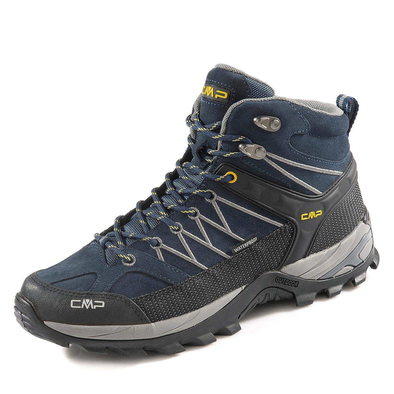 B.bleu-graffite 10nd 46 EU CMP Rigel Mid, Chaussures de Trekking et randonnée Homme