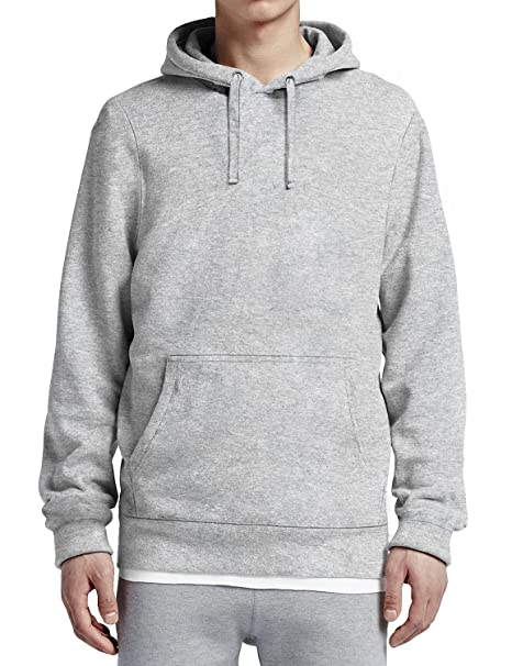 655f0aacd Ma Croix Mens Pullover Hoodie Fitted Blended Fleece (Small/ hc09_athleheath)