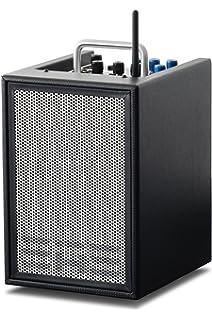 Elite Acoustics Engineering A1 4 3 de canal amplificador para guitarra acústica Negro
