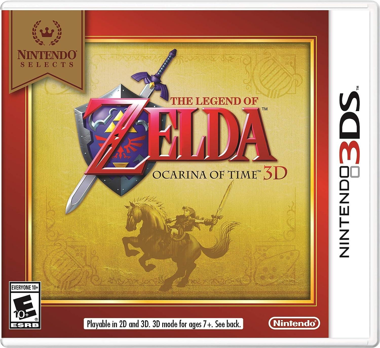 Nintendo Selects: The Legend of Zelda Ocarina of Time 3D by Nintendo: Amazon.es: Videojuegos