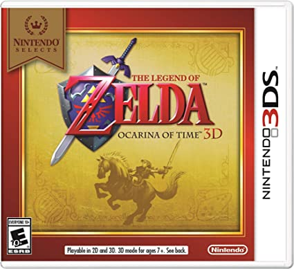 Amazon com: Nintendo Selects: The Legend of Zelda Ocarina of