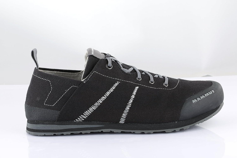 Damen Niedrig und Herren Zustiegs-/Wander-Schuh Sloper Niedrig Damen Canvas schwarz-Grau 06515c