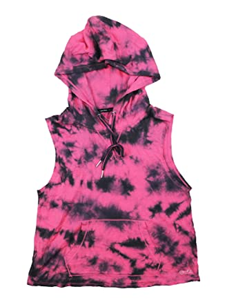 af529fdbfabce Image Unavailable. Image not available for. Color  Calvin Klein Performance  Cropped Tie Dye Hoodie Tank Top ...