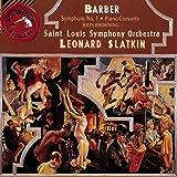 Barber: Symphony No. 1, Piano Concerto