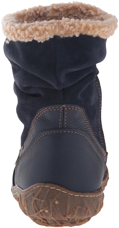 El Naturalista Damen N758 Soft Soft Soft Grain-lux Suede Ocean Nido Schlupfstiefel 581062