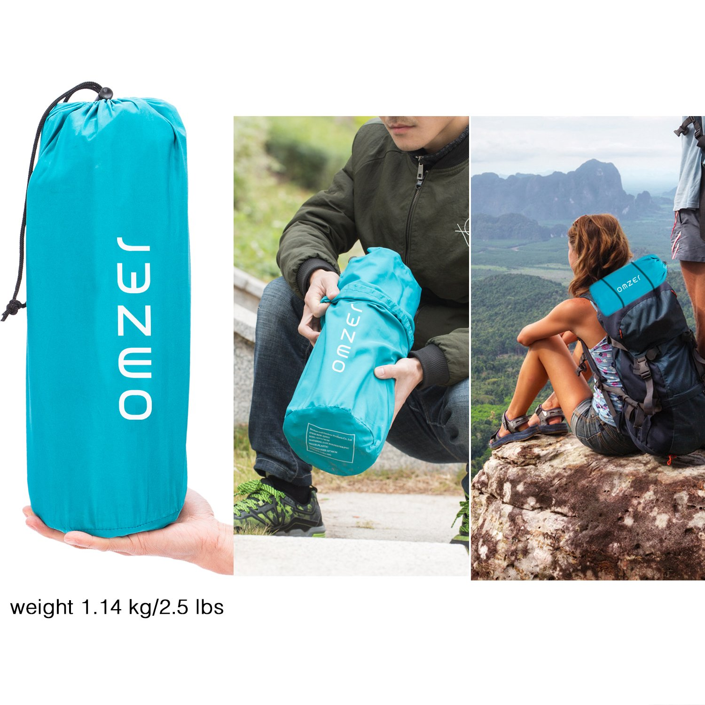 8b0cbcf8c1 ... OMZER Inflatable Lightweight Sleeping Pad
