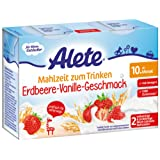 Alete Mahlzeit zum Trinken Erdbeere-Vanille-Geschmack, 6er Pack (6 x 400 ml)
