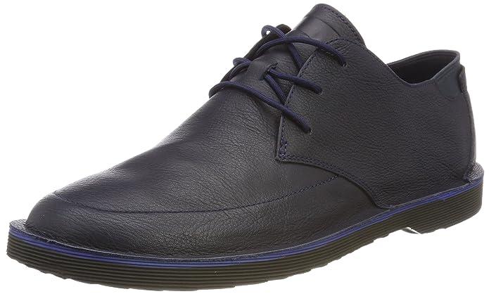 Camper Morrys, Zapatos de Cordones Oxford para Hombre, Azul (Dark Blue 400), 46 EU