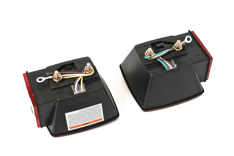 Maxxhaul 70205 12v Led Trailer Light Kit Automotive Wesbar 6 Pin Wiring Harness